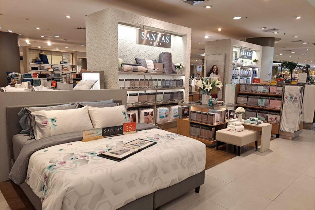 Experience the New Look of SANTAS Home Retail Corner @Central Pinklao